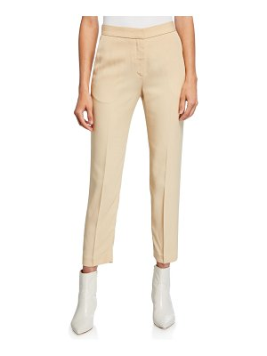 ROSETTA GETTY Cropped Tapered-Leg Pants