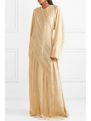 ROSETTA GETTY oversized crushed-velvet gown