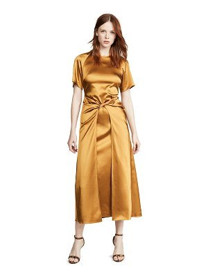 ROSETTA GETTY twist front dress
