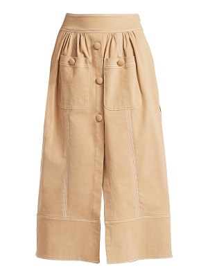 Rosie Assoulin button-me-up midi skirt