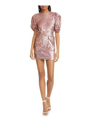 ROTATE katie sequin minidress