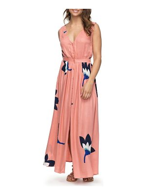 Roxy apache nature print maxi dress