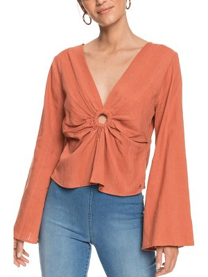 Roxy miss everything long sleeve top