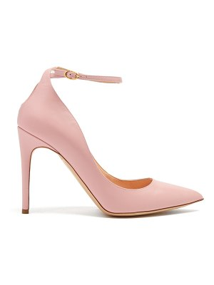 Rupert Sanderson Balance point-toe leather pumps