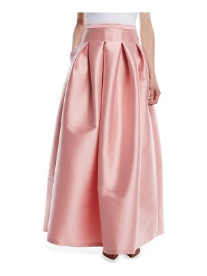 SACHIN & BABI NOIR Kennedy Long Pleated Taffeta Ball Skirt