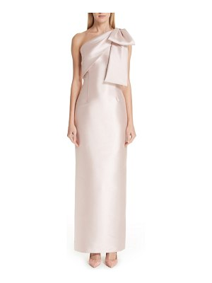 Sachin & Babi one-shoulder column gown