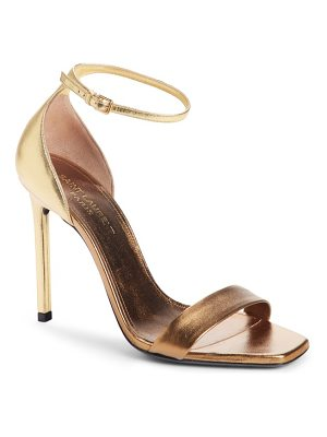 Saint Laurent amber ankle strap sandal