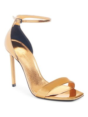 Saint Laurent amber metallic sandal