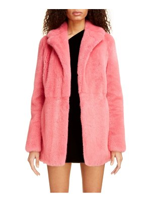 Saint Laurent genuine mink fur coat