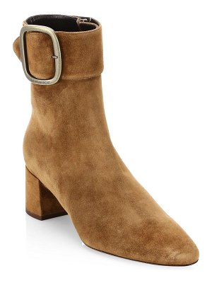 Saint Laurent joplin suede booties
