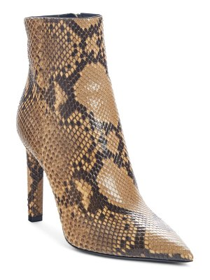 Saint Laurent kate genuine python bootie