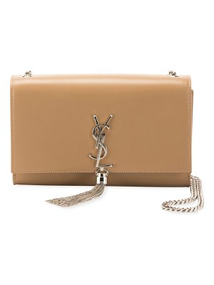 Saint Laurent Kate Monogram YSL Medium Chain Tassel Shoulder Bag