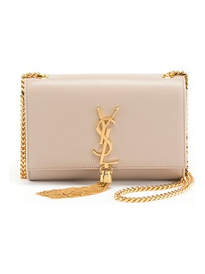 Saint Laurent Kate Monogram YSL Small Tassel Shoulder Bag with Golden Hardware