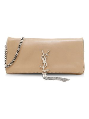 Saint Laurent kate tassel leather baguette