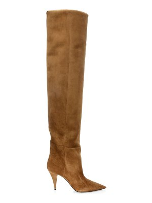 Saint Laurent kiki over-the-knee suede boots