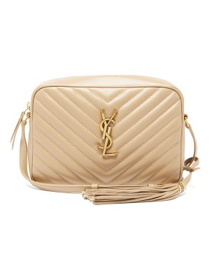 Saint Laurent lou medium quilted-leather cross-body bag