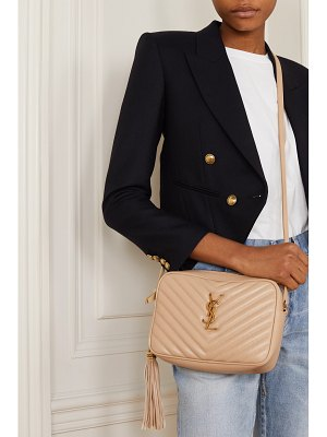 Saint Laurent lou medium quilted leather shoulder bag