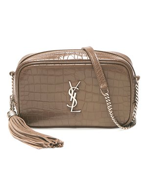 Saint Laurent Lou Mini Monogram YSL Leather Camera Bag