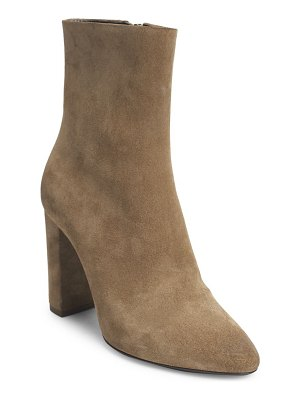 Saint Laurent lou suede booties