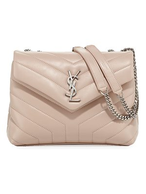 SAINT LAURENT Loulou Monogram Small Chain Bag