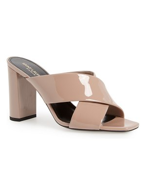 Saint Laurent loulou slide sandal