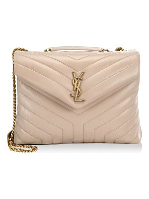 Saint Laurent medium lou lou leather shoulder bag