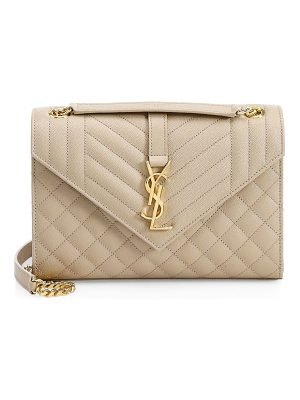 Saint Laurent medium tri-quilted envelope bag