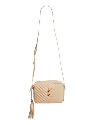 Saint Laurent mini lou quilted leather crossbody bag