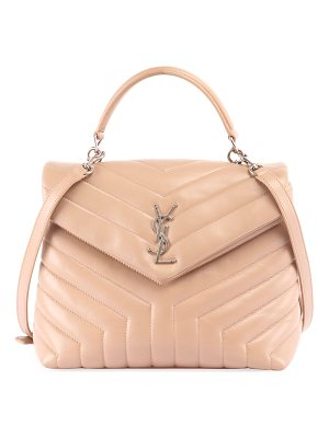 Saint Laurent Monogram Loulou Quilted Shoulder Bag