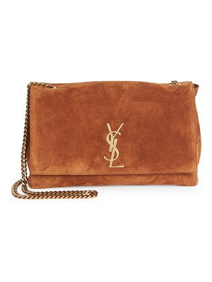 Saint Laurent reversible kate suede shoulder bag