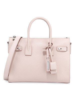 SAINT LAURENT Sac De Jour Baby Supple Bonded Carryall Tote Bag