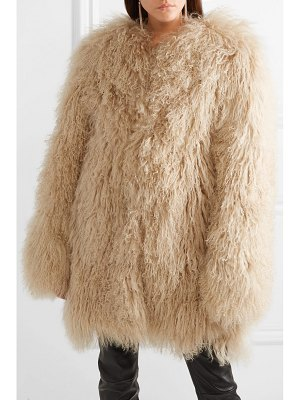 Saint Laurent shearling coat