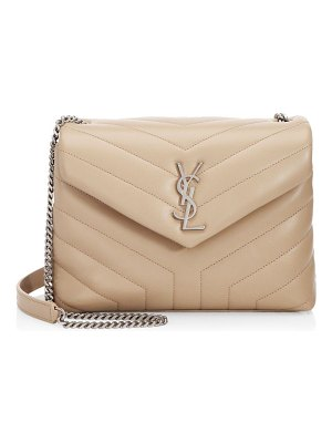Saint Laurent small lou lou leather chain shoulder bag
