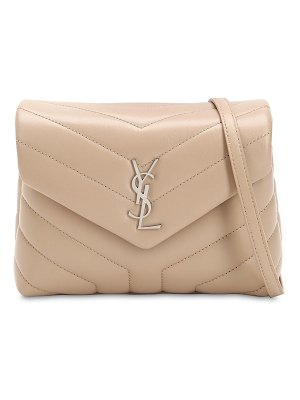Saint Laurent Toy loulou monogram leather shoulder bag