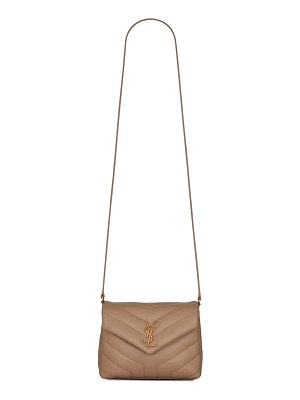 Saint Laurent toy loulou quilted leather crossbody bag