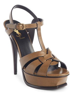 Saint Laurent tribute platform sandal