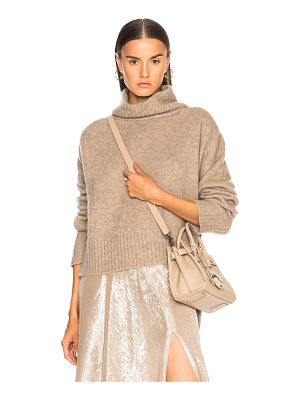 Sally Lapointe Cashmere Hi Lo Sweater