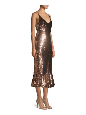 Saloni aidan sequined dress