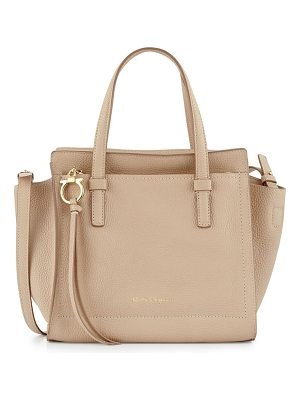 SALVATORE FERRAGAMO Amy Small Gancio Leather Tote Bag