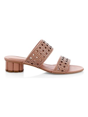 Salvatore Ferragamo belluno laser-cut sandals