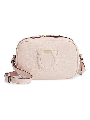 Salvatore Ferragamo gancio city leather camera bag
