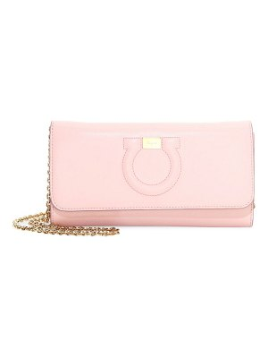 Salvatore Ferragamo gancio city leather chain shoulder bag