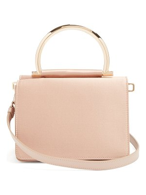 Salvatore Ferragamo Mina satin cross-body bag