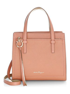 Salvatore Ferragamo small amy leather satchel