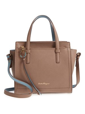 Salvatore Ferragamo small amy leather tote