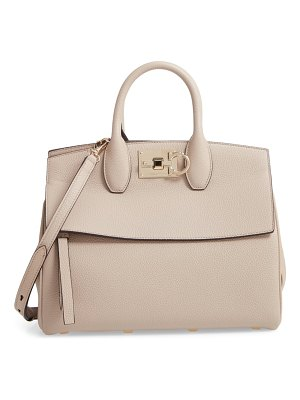 Salvatore Ferragamo small the studio leather top handle bag