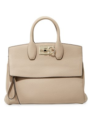 Salvatore Ferragamo Studio Piccolo Medium Satchel Bag