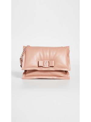 Salvatore Ferragamo viva puffy shoulder bag