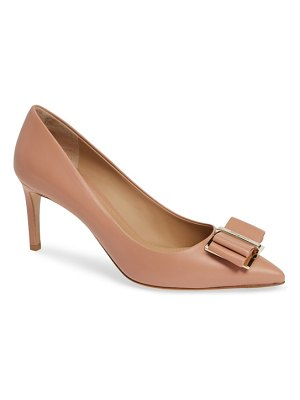 Salvatore Ferragamo zeri pointy toe pump