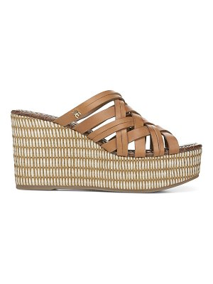 Sam Edelman devon leather wedge sandals
